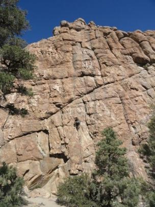 Climbing at Benton
