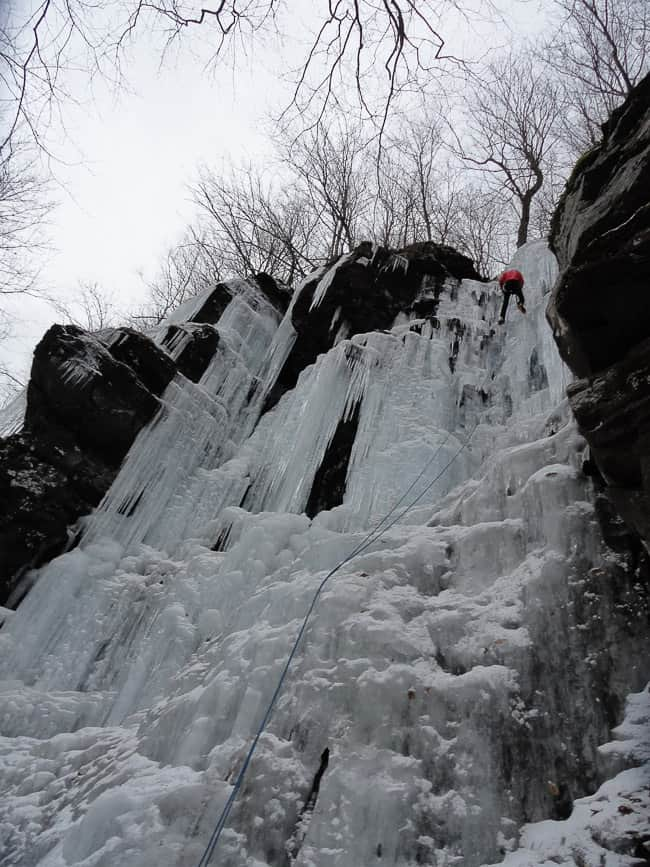 Catskills Ice Climbing: Stoney Clove and Deep Notch