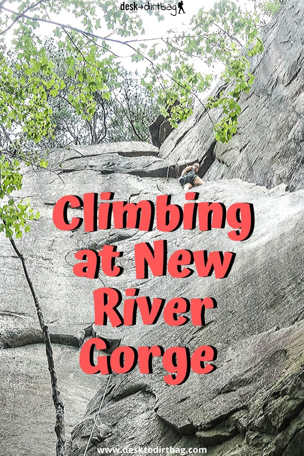 Climbing at New River Gorge Memorial Day Weekend