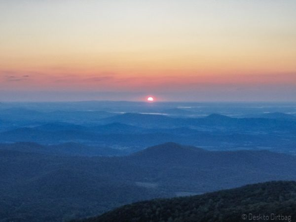 Sunrise from Old Rag