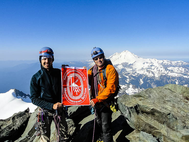 Climbing Mount Shuksan Fisher Chimneys: One of the 50 Classic Climbs washington, trip-reports, alpine