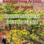 Backpacking Across New Jersey: Delaware Water Gap to High Point (45 miles) trip-reports, new-jersey, backpacking
