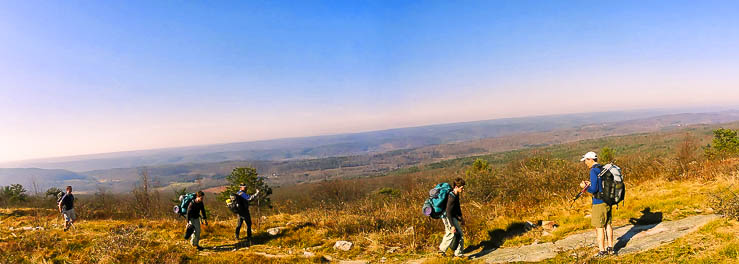 Backpacking New Jersey: Delaware Water Gap to High Point