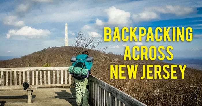 Backpacking Across New Jersey