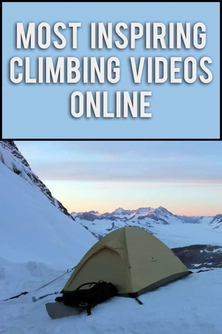 Check a few of these amazing, inspiring short climbing videos online