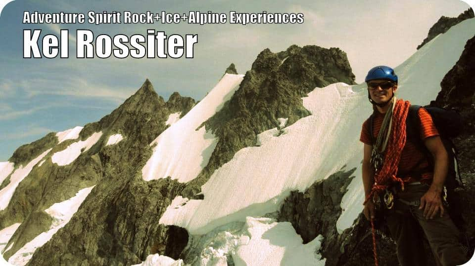 Kel Rossiter on the Torment Forbidden Traverse