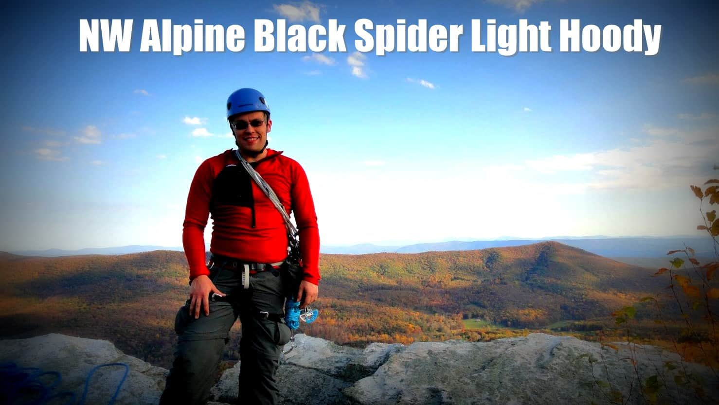 NW Alpine Black Spider Light Hoody