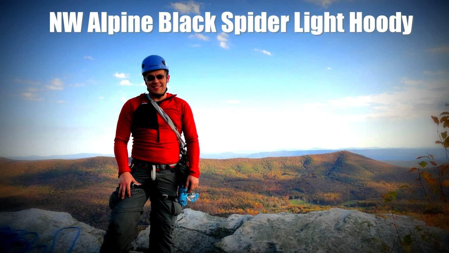 NW Alpine Black Spider Light Hoody