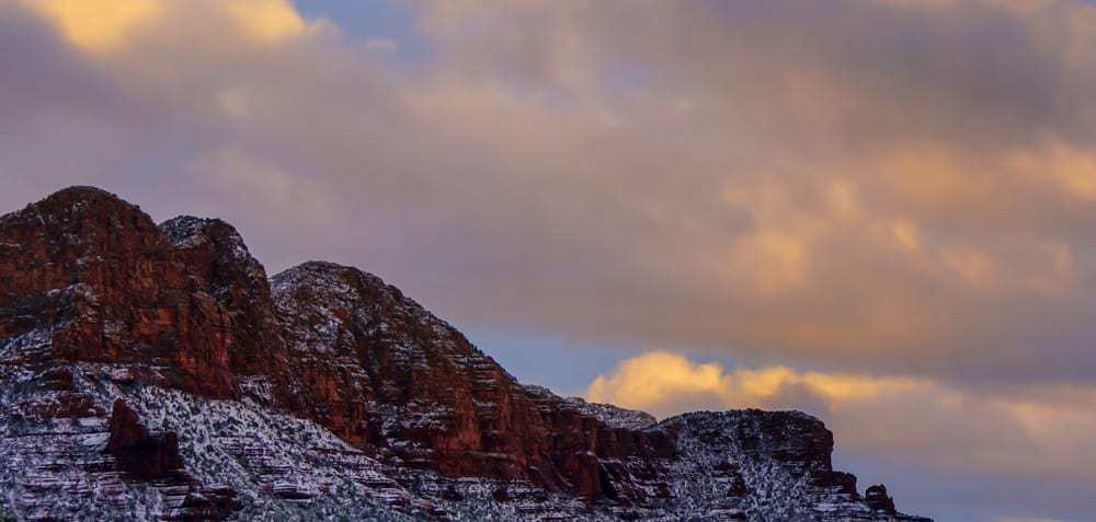 Sedona and Snow