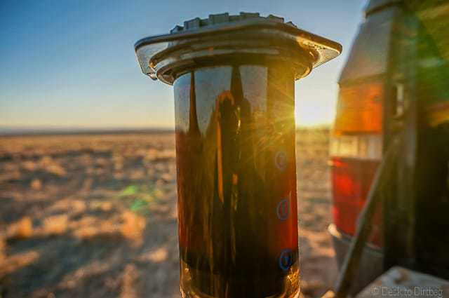 Introducing the Aeropress Coffee Maker - The Best Camping Coffee Maker & How to Make Coffee While Camping