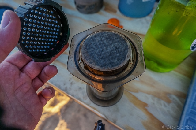 Remove the cap. The Best Camping Coffee Maker & How to Make Coffee While Camping