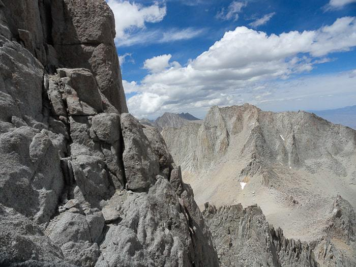Climbing Mount Whitney via the East Buttress