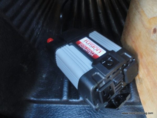 how to keep phone charged while camping