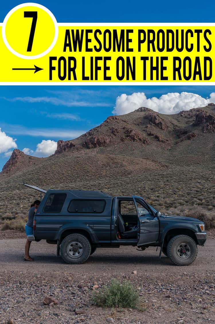 7 Awesome Products for Life on the Road