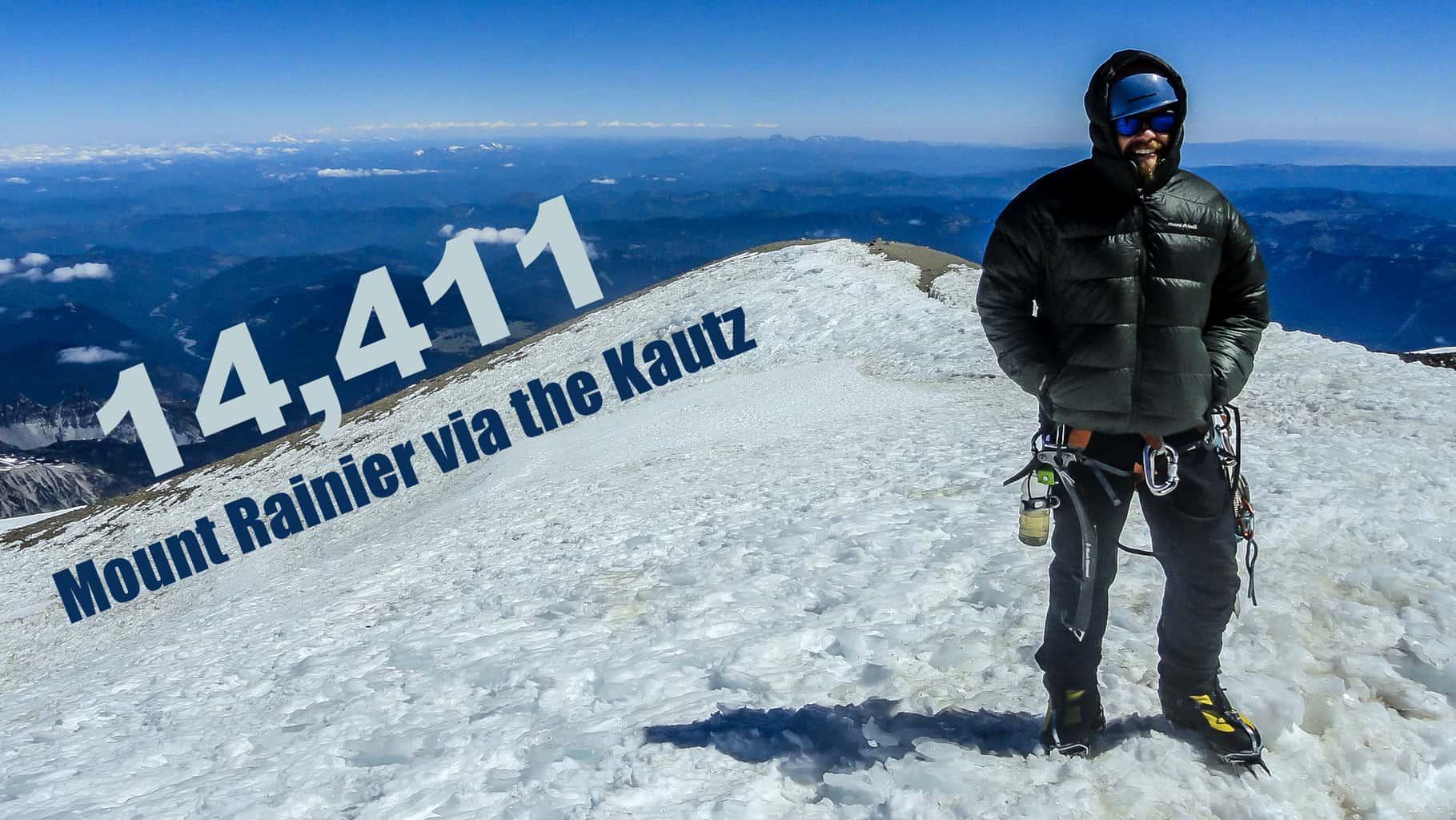 Mount Rainier Kautz Glacier Climb