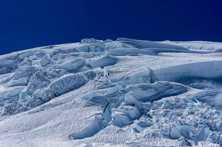Climbing Mount Rainier via the Kautz Glacier Route washington, trip-reports, alpine