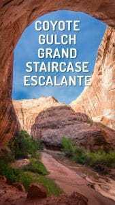 Coyote Gulch Grand Staircase Escalante