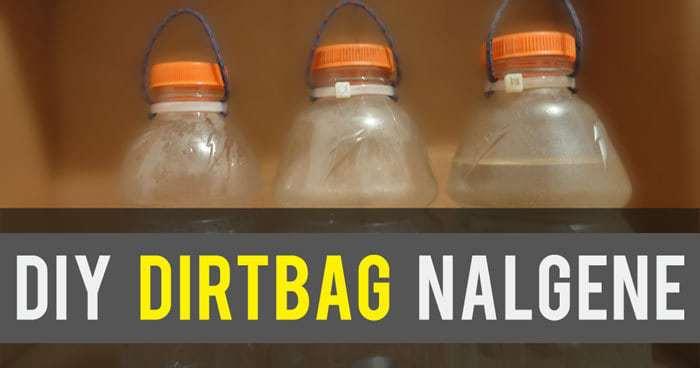 How to Make Your Own DIY Dirtbag Nalgene Bottle
