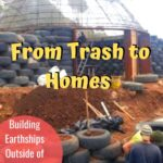 From Trash to Homes - Building Earthships Outside of Bogota, Colombia south-america