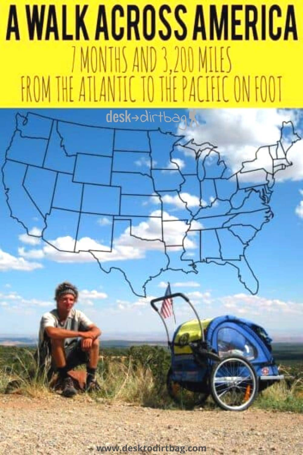 How to Walk Across America: Meet Nate Damm and His Life on Foot