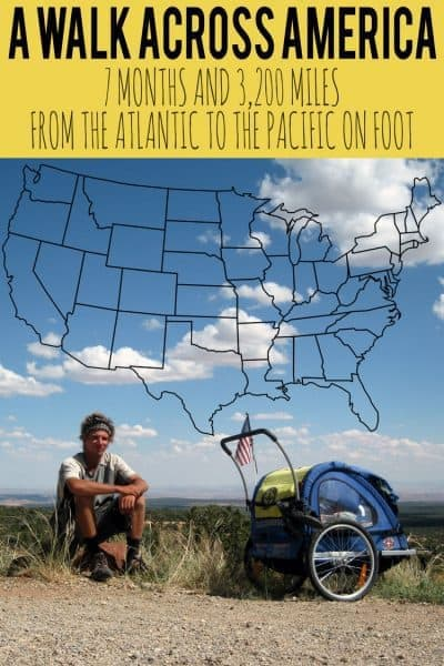 How to Walk Across America - An Interview with Nate Damm