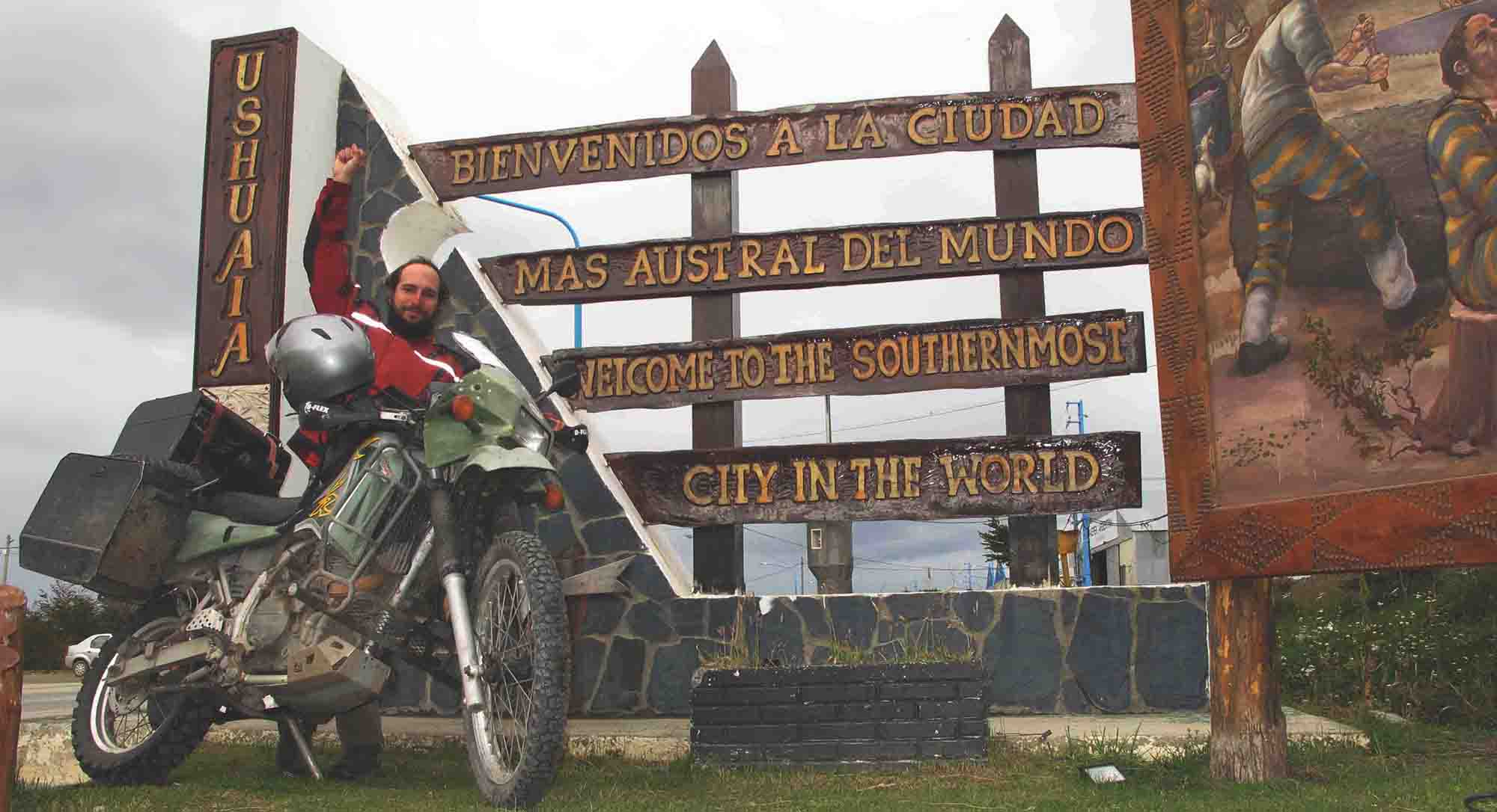 Overlanding the Americas by Motorcycle with Ben Slavin