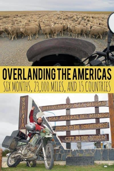 Overlanding the Americas by Motorcycle, an interview with Ben Slavin