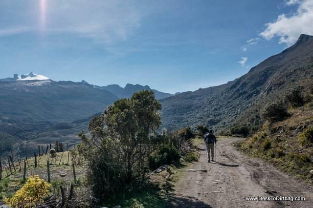 Pan de Azucar and el Pulpito del Diablo - Sierra Nevada del Cocuy