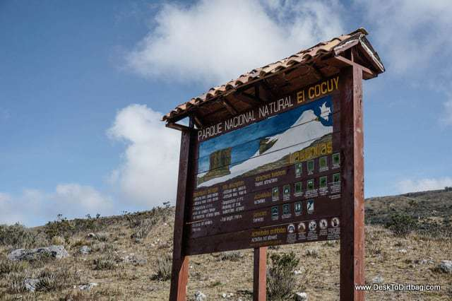 Welcome to Parque Nacional Natural El Cocuy. one of the reasons to visit Colombia