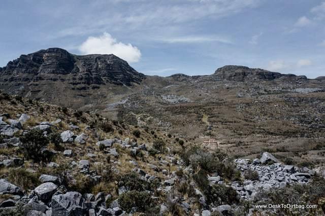 Hike into Lago Pintado. - Sierra Nevada del Cocuy Colombia