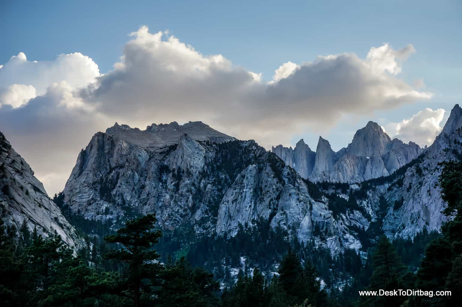 Mount Whitney, the highest peak in the Lower 48, California.