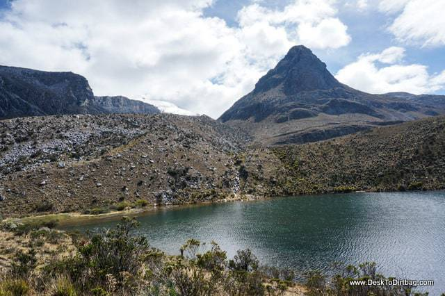 Beautiful lakes near the camp. - Sierra Nevada del Cocuy Colombia