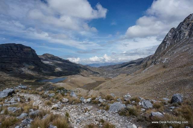 Paisaje en el paso - Sierra Nevada del Cocuy