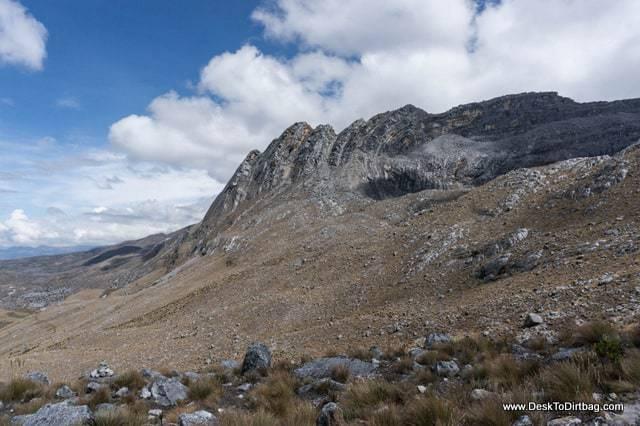 Formación geológica - Sierra Nevada del Cocuy