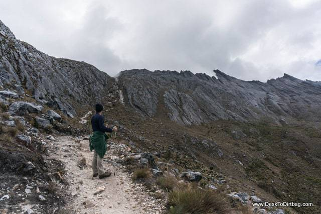 Mirando hacia Paso Cusiri - Sierra Nevada del Cocuy