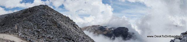 Panorama desde Paso Cusiri - Sierra Nevada del Cocuy