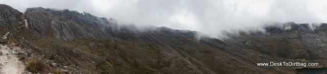 Otro panorama Paso Cusiri - Sierra Nevada del Cocuy