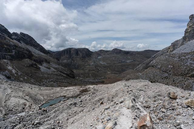 Lado oeste - Sierra Nevada del Cocuy