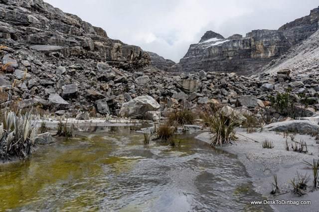 Laguna - Sierra Nevada del Cocuy