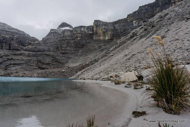 Otra playa arenosa - Sierra Nevada del Cocuy