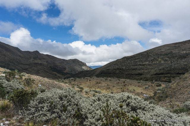 More scenery on the hike out of Cocuy - Sierra Nevada del Cocuy Colombia