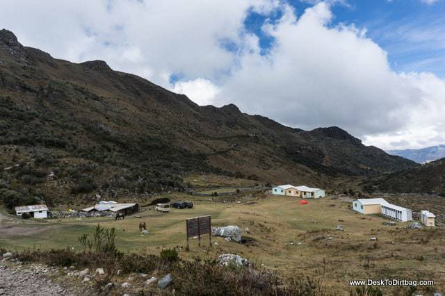 A small farm and ranch on the way out of the park. - Sierra Nevada del Cocuy Colombia