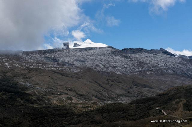 Pan de Azúcar y El Púlpito de Diablo - Sierra Nevada del Cocuy