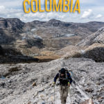 Trekking in the Sierra Nevada del Cocuy in Colombia colombia, backpacking