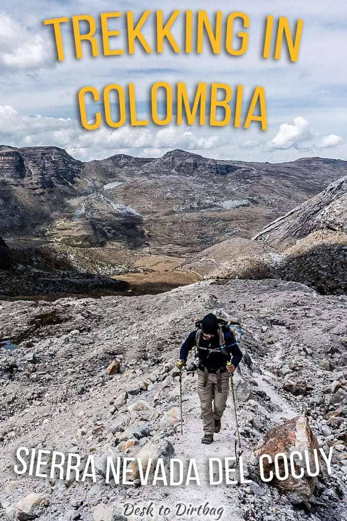 Trekking in Colombia - Sierra Nevada del Cocuy
