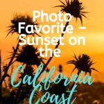 Photo Favorite – Sunset on the California Coast photography
