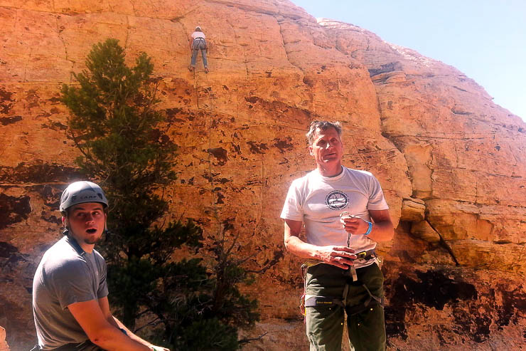 Arno Ilgner at Red Rock Rendezvous