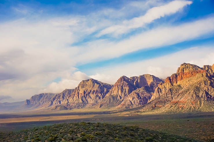 Visiting Red Rock Canyon, Las Vegas, Nevada