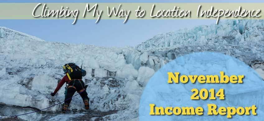 November 2014 Income Report