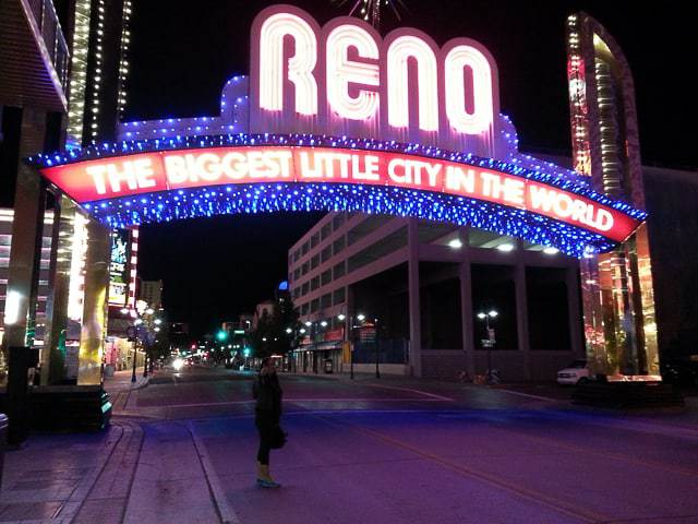 You can even get cheap and free things in the big gambling cities like Reno and Las Vegas.